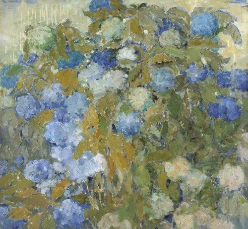 Blue hydrangeas, 1907