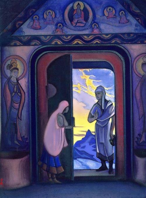 Nicholas Roerich. Herald, 1946