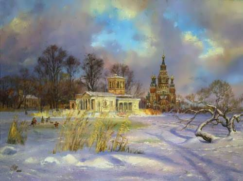 Wonderful pictures by Russian painter V. Zhdanov