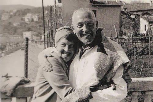Marianna and her Berlin friend Ernst Alfred Aye, 1928