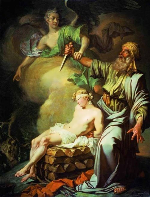 Abraham Sacrifices His Son Isaac, 1765
