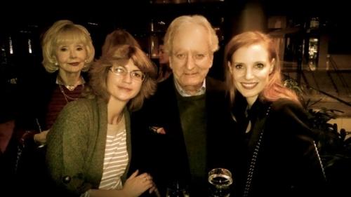 Jessica Chastain, Nicolas Coster and Elena Borodulina