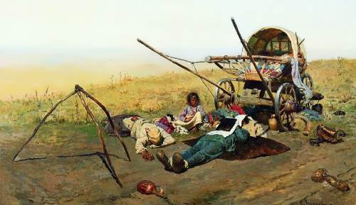 The Death of a Resettler, 1889