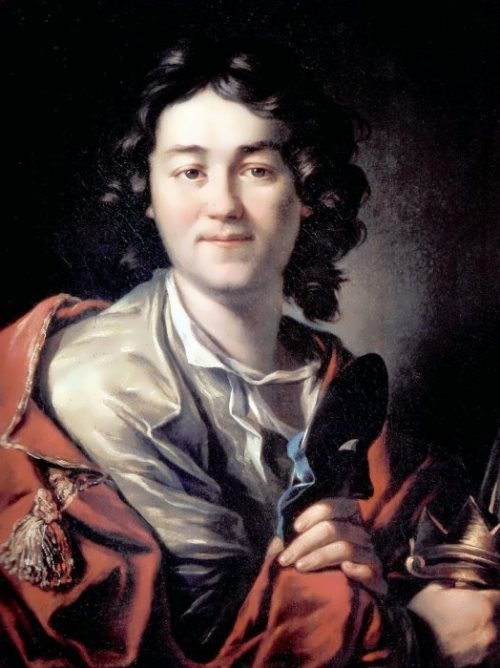Portrait of the actor Fyodor Volkov, 1763