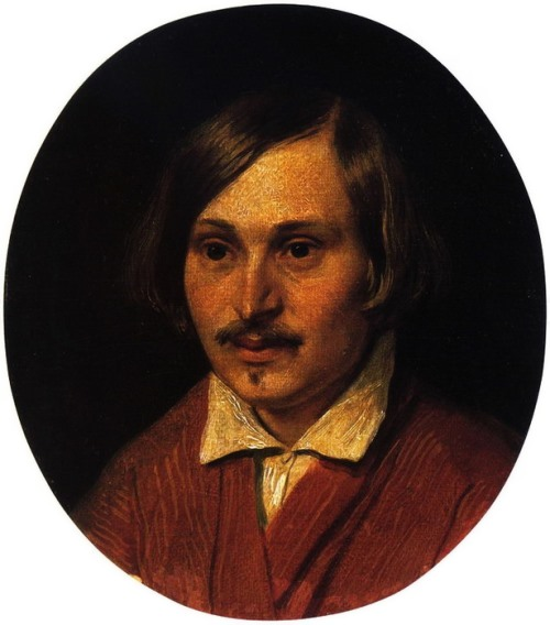 Portrait of N.V. Gogol, 1841