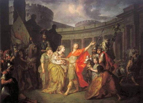 Farewell of Hector and Andromache, 1773