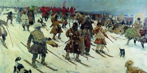 The Muscovites. XVI century