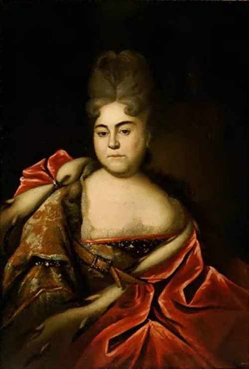 Portrait of Princess Natalia Alexeevna, not later than 1716