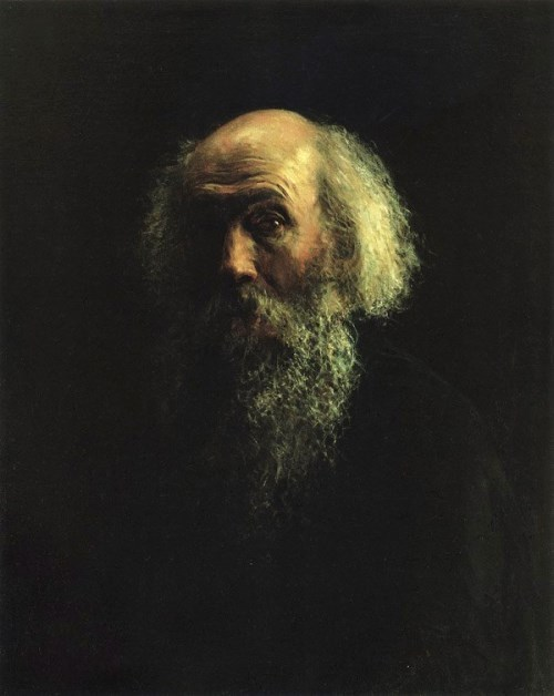 Nikolai Ghe. Self-Portrait, 1893