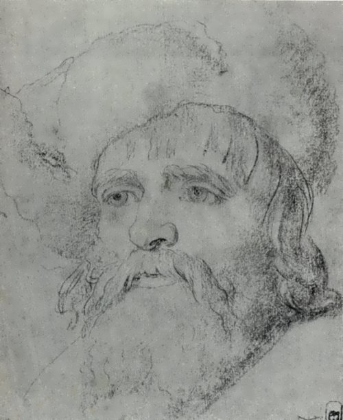 Head of a Peasant, 1770