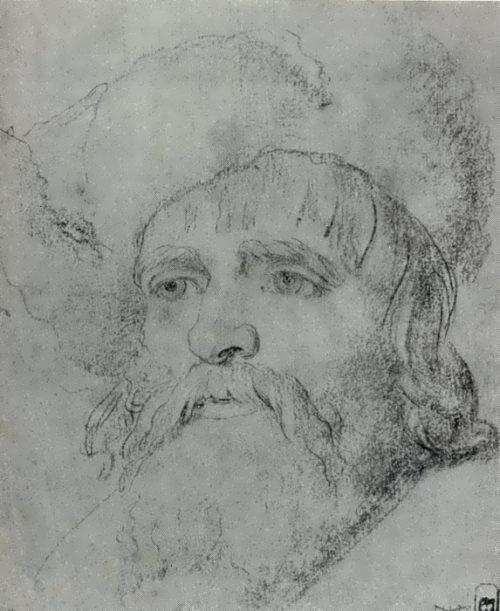 Head of a Peasant Anton Losenko