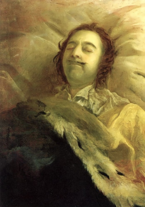 Peter the Great on His Death-Bed Ivan Nikitin