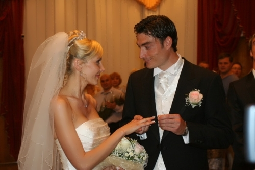 Yulia Koroleva and Albert Riera
