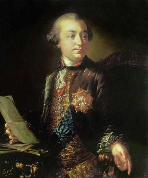 Portrait of a President of the Academy of Arts Igor Shuvalov, 1760