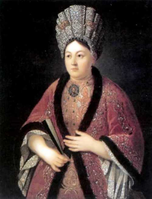 Portrait of Maria Yakovlevna Stroganova Ivan Nikitin