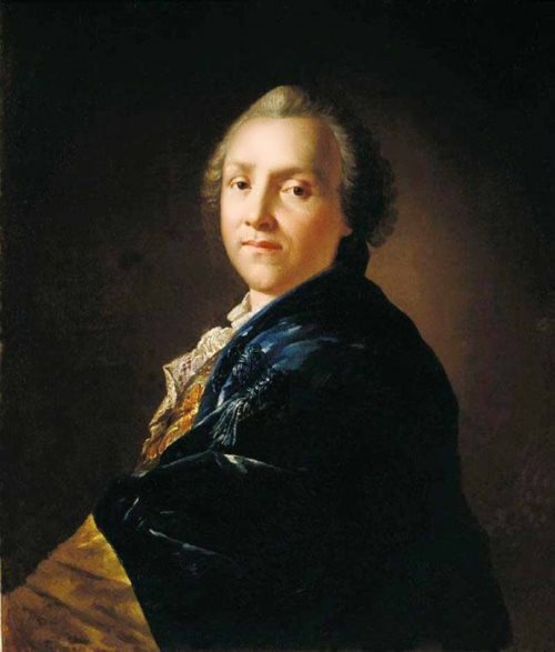 Portrait of the poet and playwright Alexander Petrovich Sumarokov, 1760