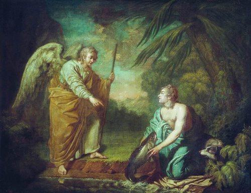 Tobias with Angel Anton Losenko
