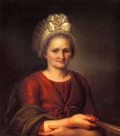 Portrait of Anna Lukinichna Venetsianova