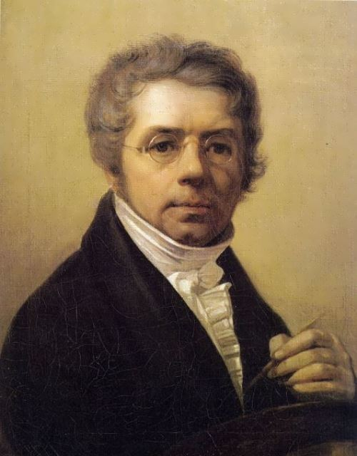 Alexei Venetsianov. Self-Portrait