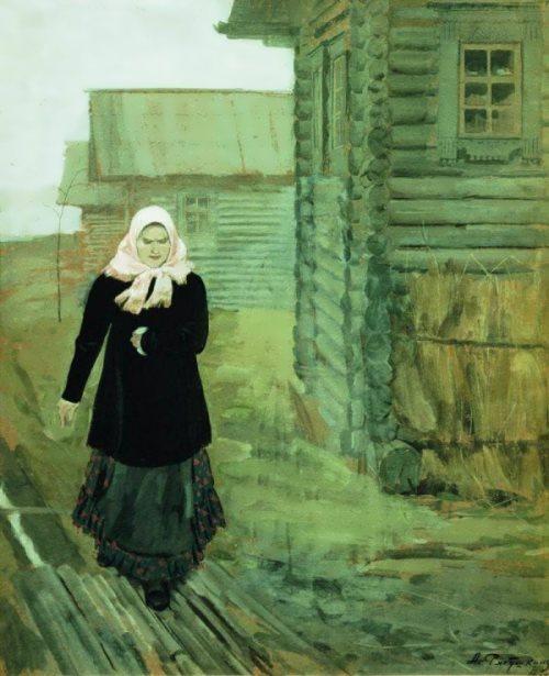 In a Village, 1902