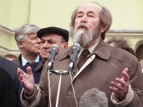 Solzhenitsyn – great Russian writer