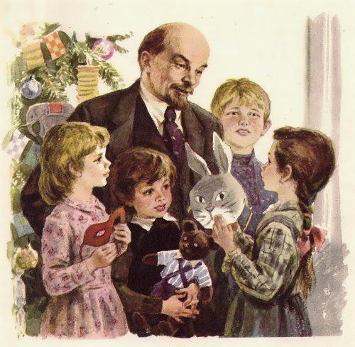 Zhukov Nikolai. Lenin and children