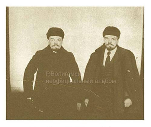Vladimir and Sergei Ulyanov. Petrograd. 1917