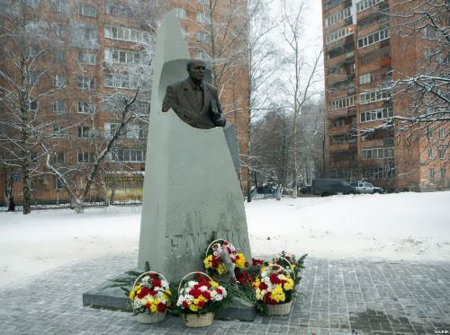 Monument to Sakharov in Nizhny Novgorod