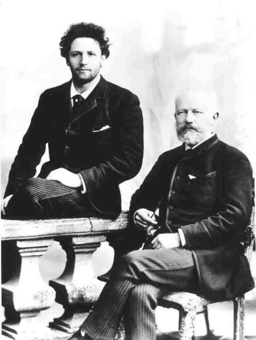 Tchaikovsky and Anatoly Brandukov