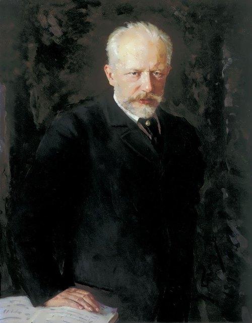 Kuznetsov. Portrait of Tchaikovsky