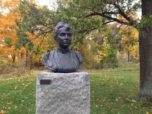 Bust of Kovalevskaya