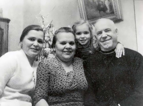 Zhukov and his family