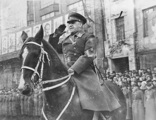 Zhukov - outstanding Soviet military commander