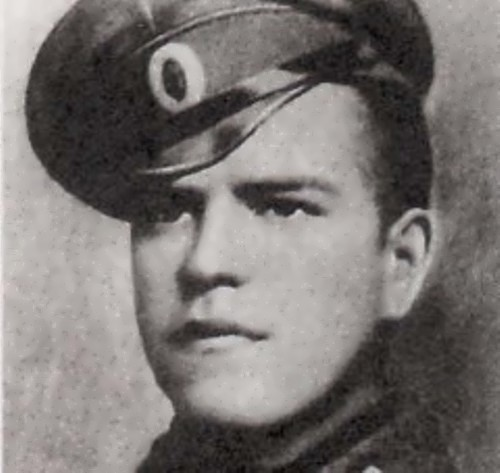 Junior sergeant Georgy Zhukov