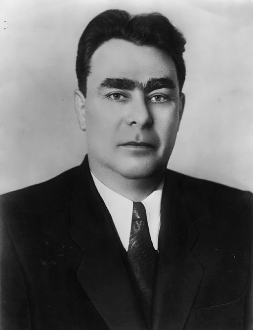 Brezhnev - leader of the Communist Party