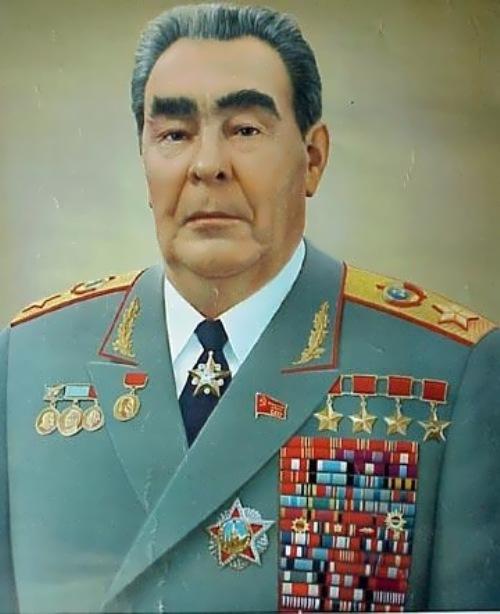 Leonid Ilyich Brezhnev - Soviet politician