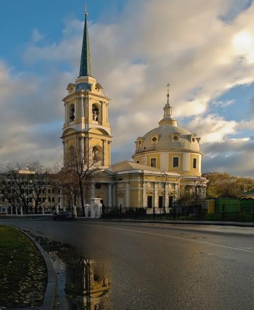 Church of the Ascension of Christ on the Pea Field Matvey Kazakov