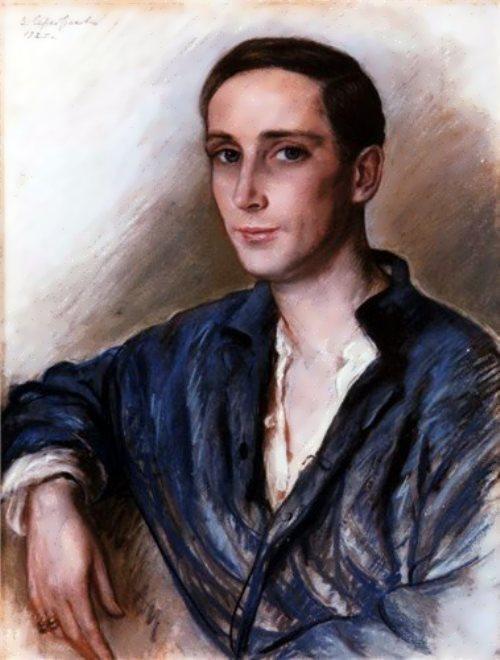 Zinaida Serebryakova. Portrait of Felix Yusupov, 1925