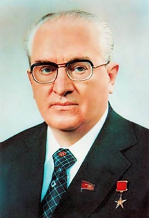 Yuri Andropov - the godfather of perestroika