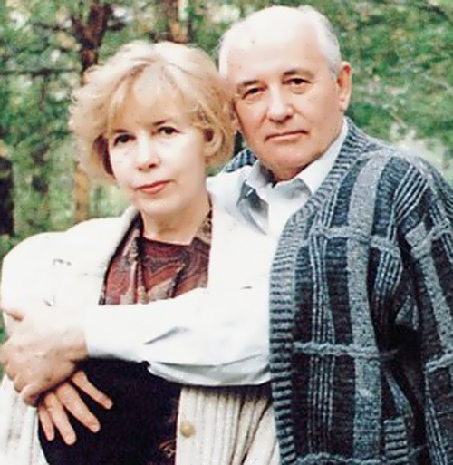 Mikhail Gorbachev and Raisa Gorbacheva