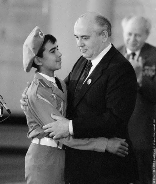 Gorbachev and Zafar Tursunov