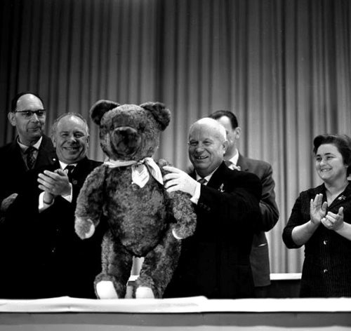 Khrushchev and Teddy Bear