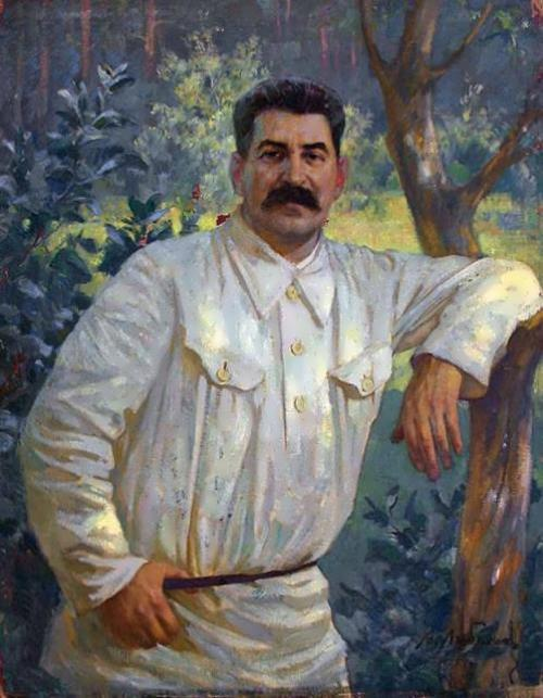 V. Lyubimov. Portrait of Stalin