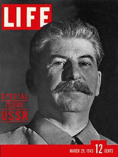 Stalin on the cover of Life magazine