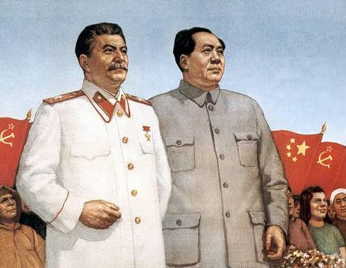 Stalin and Mao Zedong