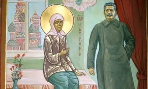 Stalin and St Matrona