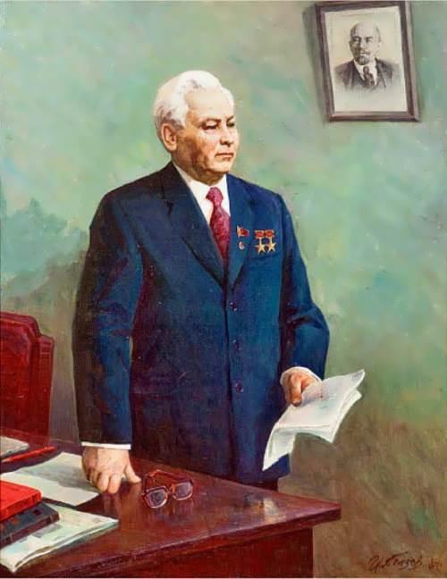 Portrait of Konstantin Chernenko