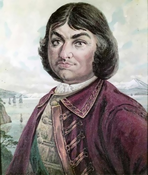 Yefimov. Portrait of Vitus Bering