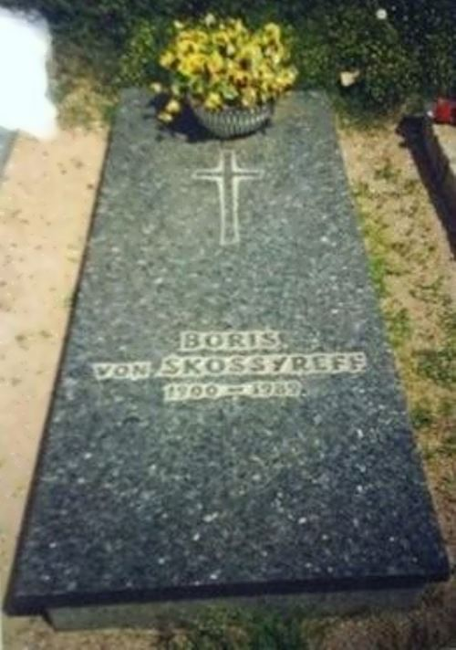 There is a tombstone in the Boppard cemetery