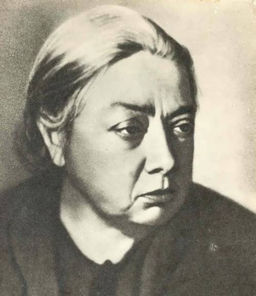 Krupskaya – outstanding political figure